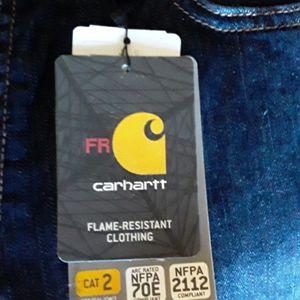 Carhartt flame-resistant Rugged Flex Blue Jeans